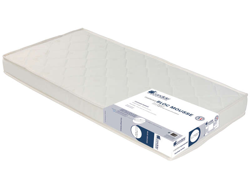 matelas mousse 60x120 cm candide vente de matelas b b. Black Bedroom Furniture Sets. Home Design Ideas