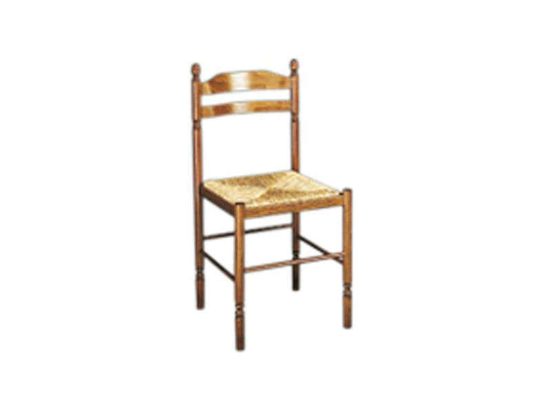 Chaise en h tre massif avec assise en paille jeannette for Chaises de cuisine but