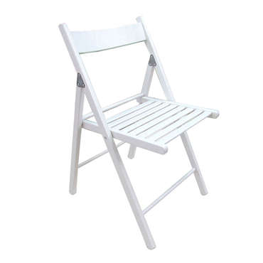 Chaise  ULLA coloris blanc
