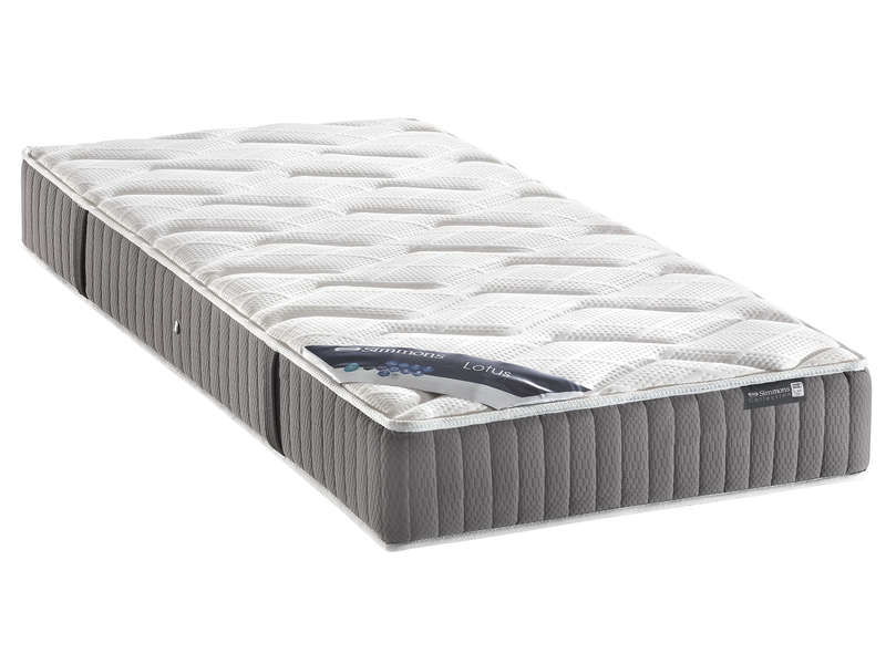 matelas ressorts 90x190 cm simmons lotus vente de matelas 2 personnes conforama. Black Bedroom Furniture Sets. Home Design Ideas