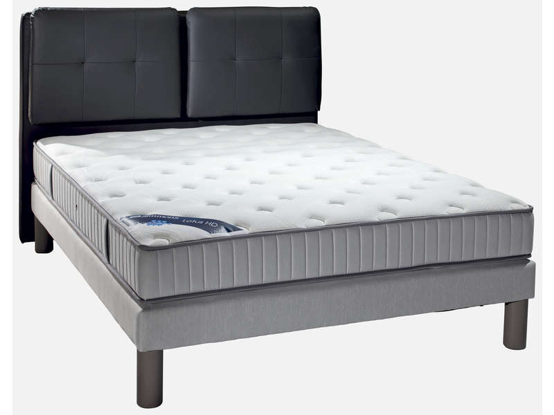 matelas ressorts 160x200 cm simmons lotus le fait main. Black Bedroom Furniture Sets. Home Design Ideas