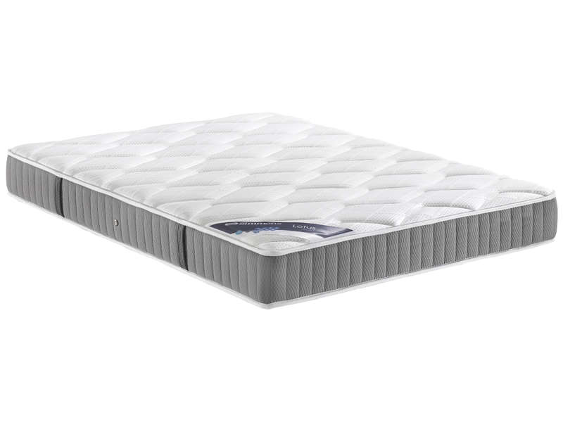 matelas ressorts 180x200 cm simmons lotus vente de matelas 2 personnes conforama. Black Bedroom Furniture Sets. Home Design Ideas