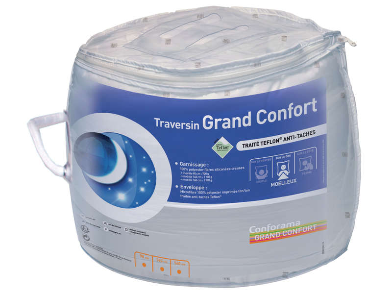 Traversin 90 cm GRAND CONFORT