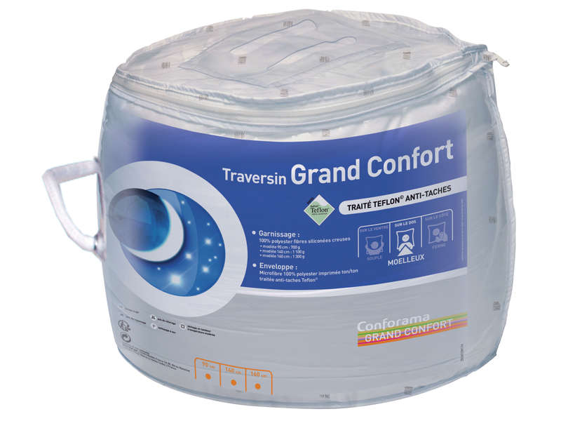 Traversin 160 cm GRAND CONFORT