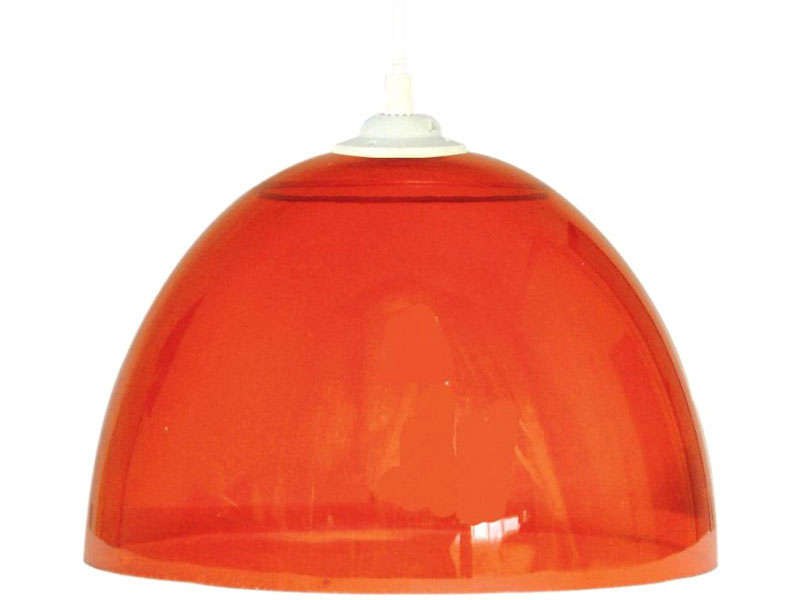 Suspension buzzy coloris rouge vente de luminaire enfant for Luminaire suspension rouge