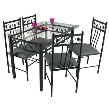 ensemble table et chaise de cuisine pas cher promo et soldes la deco. Black Bedroom Furniture Sets. Home Design Ideas