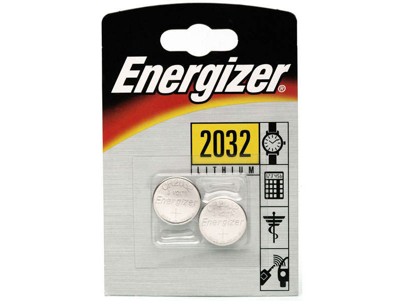 Lot de 2 piles CR 2032 ENERGIZER 628747         CR20