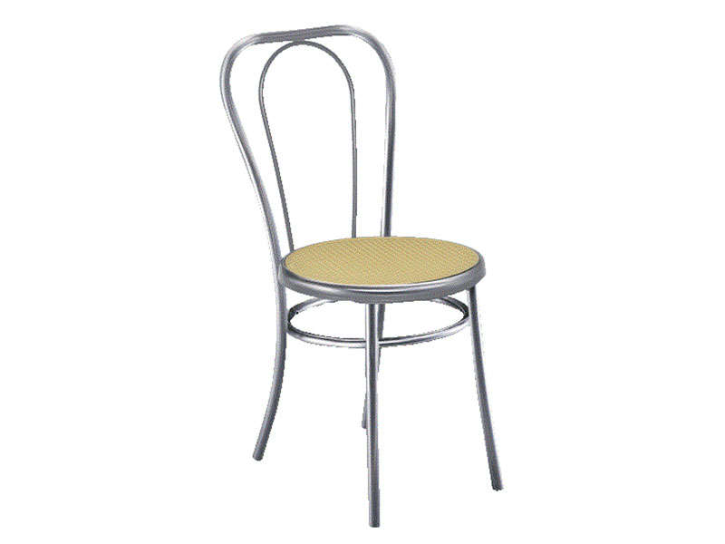 Chaise BISTRO coloris gris