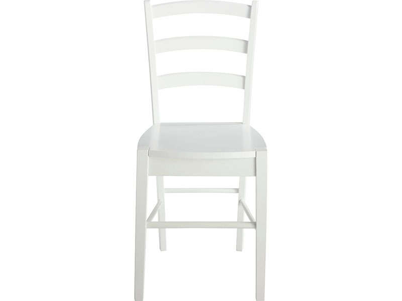 Chaise juliette coloris blanc vente de chaise conforama for Chaise blanche conforama