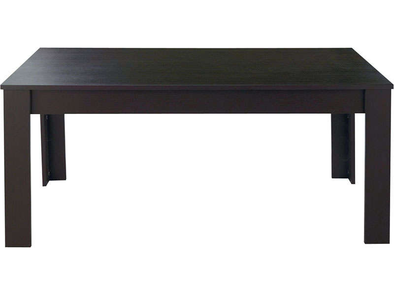 Table a manger wenge conforama for Table basse rubis