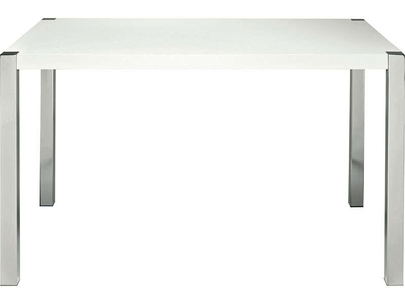 Table verre conforama for Table blanche conforama