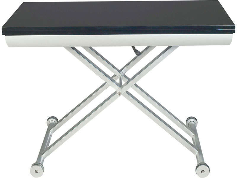 Table hauteur variable conforama - Table de salon reglable en hauteur ...