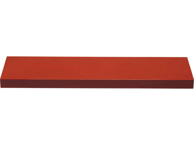 Etag re murale wingloss coloris rouge vendu par conforama 691 - Etagere murale rouge ...
