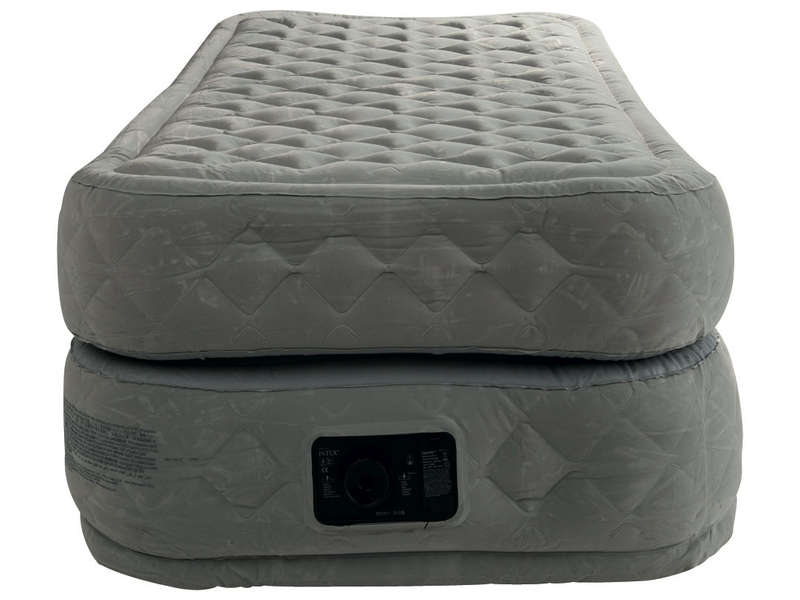 Matelas Gonflable Intex Comfort Plush Fiber Tech 1 Place Raviday