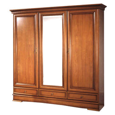 armoire 3 portes sarlat armoire 3 portes sarlat moins cher. Black Bedroom Furniture Sets. Home Design Ideas