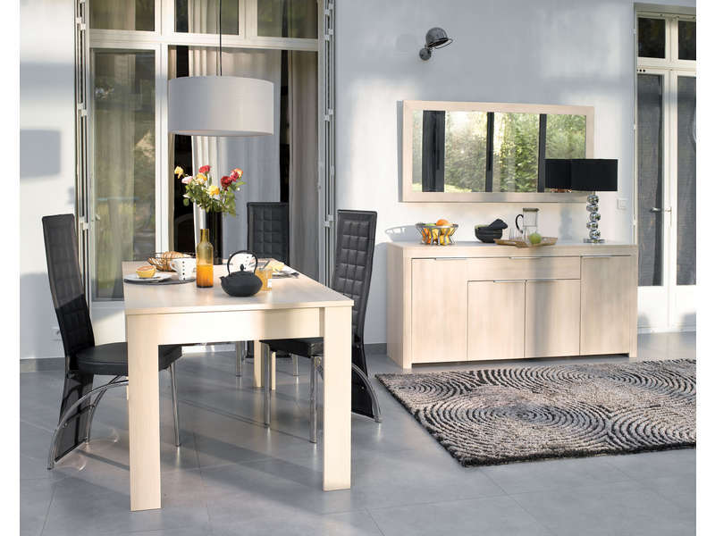 conforama salle a manger rubis table de lit. Black Bedroom Furniture Sets. Home Design Ideas