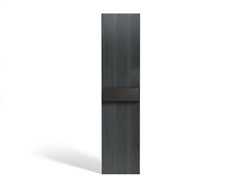 Porte bi-color 50 cm NO LIMIT coloris frêne/noir - Vente de Armoire ...