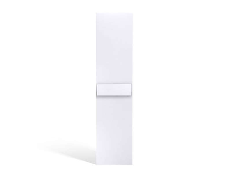 Porte bi-color 50 cm NO LIMIT coloris blanc/gris