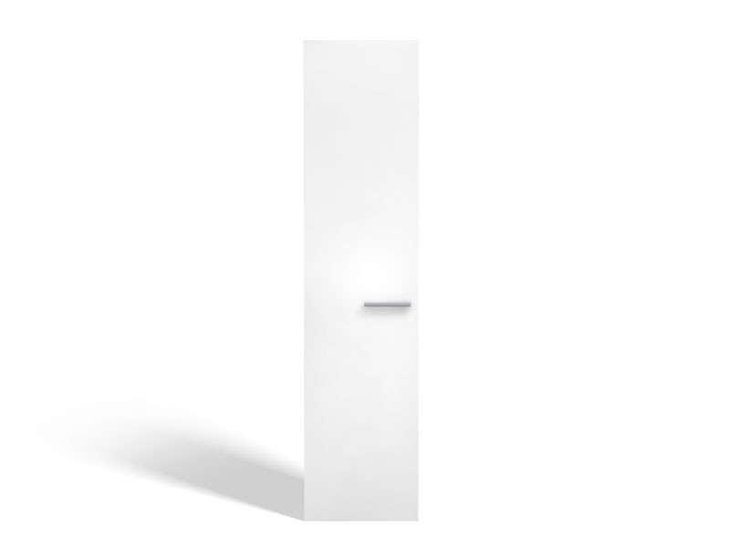 Porte 50 cm no limit coloris blanc brillant vente de armoire conforama for Porte placard 50 cm