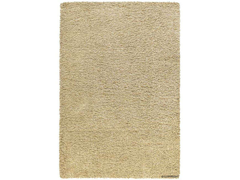 tapis 133x180 cm 100 polypropyl ne shaggy beige vente. Black Bedroom Furniture Sets. Home Design Ideas