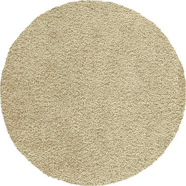 tapis rond cm shaggy coloris beige vente de tapis. Black Bedroom Furniture Sets. Home Design Ideas