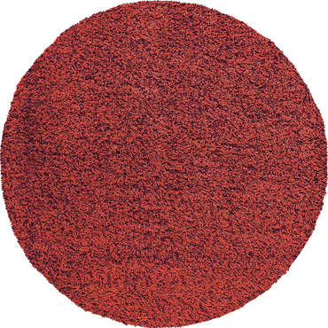 tapis rond 120 cm 100 polypropyl ne shaggy coloris rouge. Black Bedroom Furniture Sets. Home Design Ideas