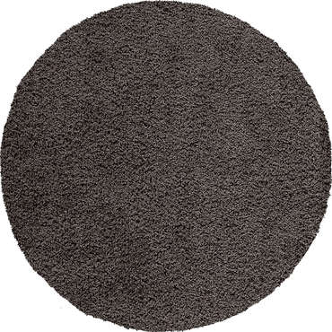 tapis rond cm shaggy coloris noir vente de tapis conforama. Black Bedroom Furniture Sets. Home Design Ideas