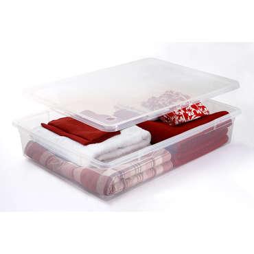 Boîte de rangement 55 litres CLEAR BOX MEGA 55L