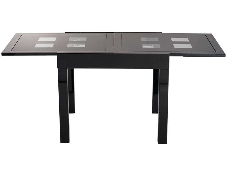 Table a manger wenge conforama for Table salle a manger extensible conforama