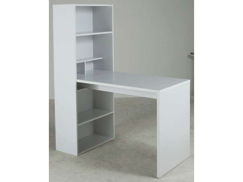 Bureau tag re willow vente de bureau conforama for Meuble bureau etagere