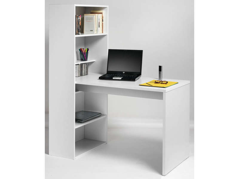 Bureau tag re willow vente de bureau conforama for Bureau etagere pas cher