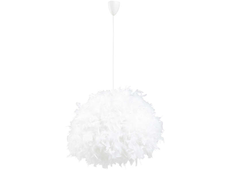 Suspension kokot coloris blanc vente de luminaire enfant conforama for Luminaire multi suspension colore enfant