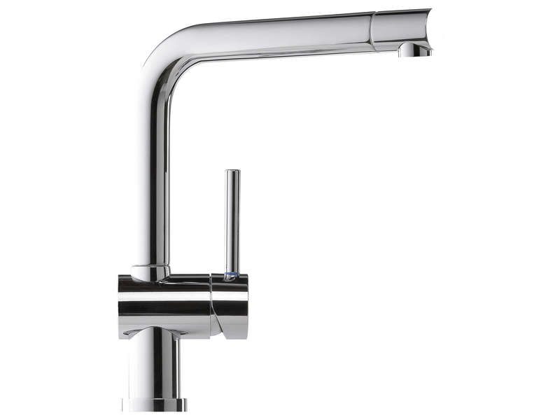 Mitigeur design chrome scd rcd114 chrome vente de evier for Mitigeur design cuisine