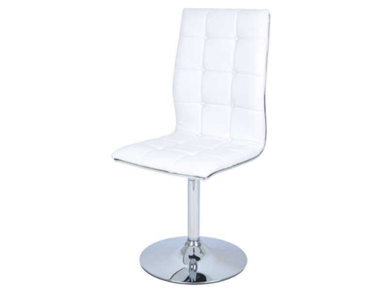 Chaise BALE coloris blanc