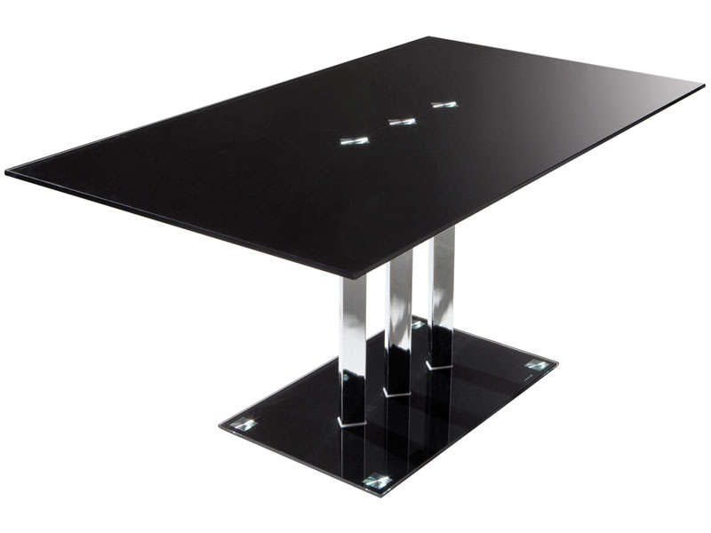 table pied central conforama table de lit. Black Bedroom Furniture Sets. Home Design Ideas