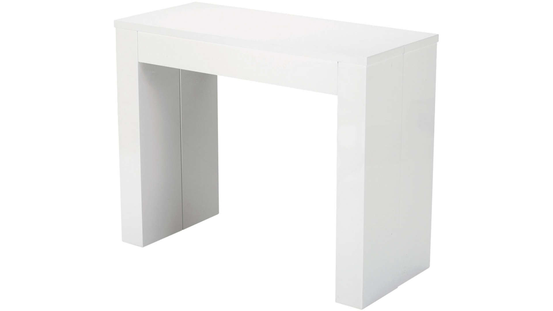 Console extensible conforama blanche table de lit - Table console extensible fly ...