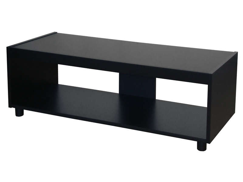 meuble tv stan 2 coloris noir vente de meuble tv conforama. Black Bedroom Furniture Sets. Home Design Ideas