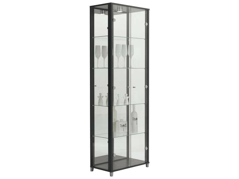 Vitrine verre conforama table de lit for Vitrine verre but