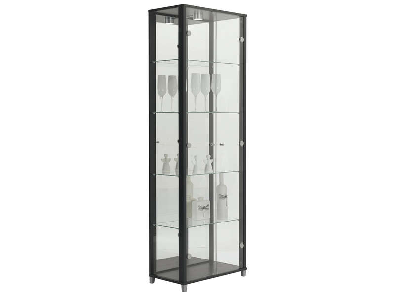 vitrine paros iii vente de biblioth que et vitrine conforama. Black Bedroom Furniture Sets. Home Design Ideas