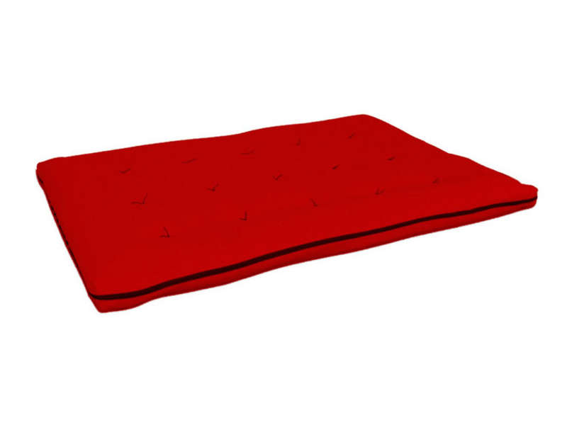 matelas futon pour banquette emiko coloris rouge vente de mr032015g1 conforama. Black Bedroom Furniture Sets. Home Design Ideas