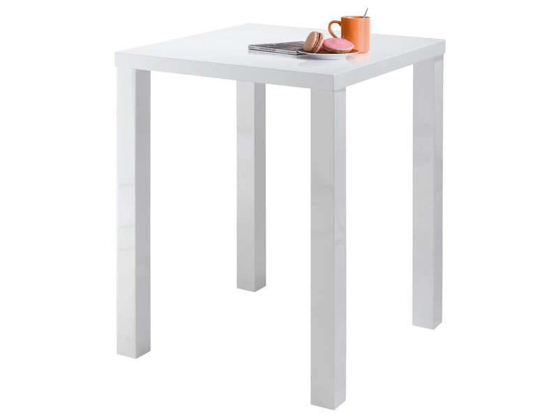 Table haute conforama table de lit for Table bar haute blanche