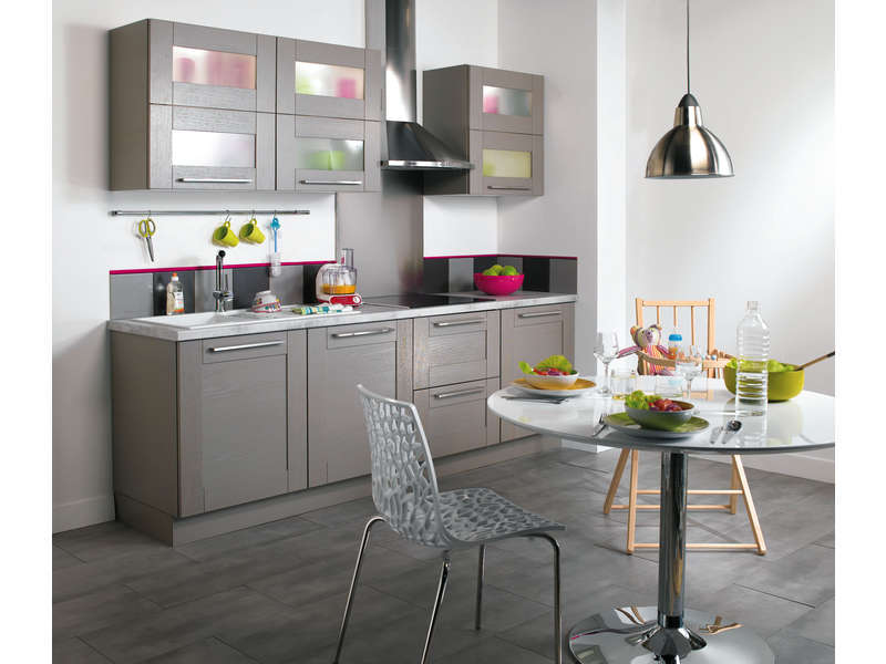 cuisine gris conforama id e inspirante pour la conception de la maison. Black Bedroom Furniture Sets. Home Design Ideas