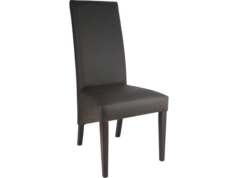 chaise simili cuir marron conforama table de lit