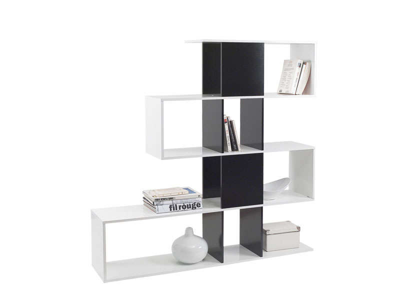 s paration zig zag vente de biblioth que et vitrine conforama. Black Bedroom Furniture Sets. Home Design Ideas