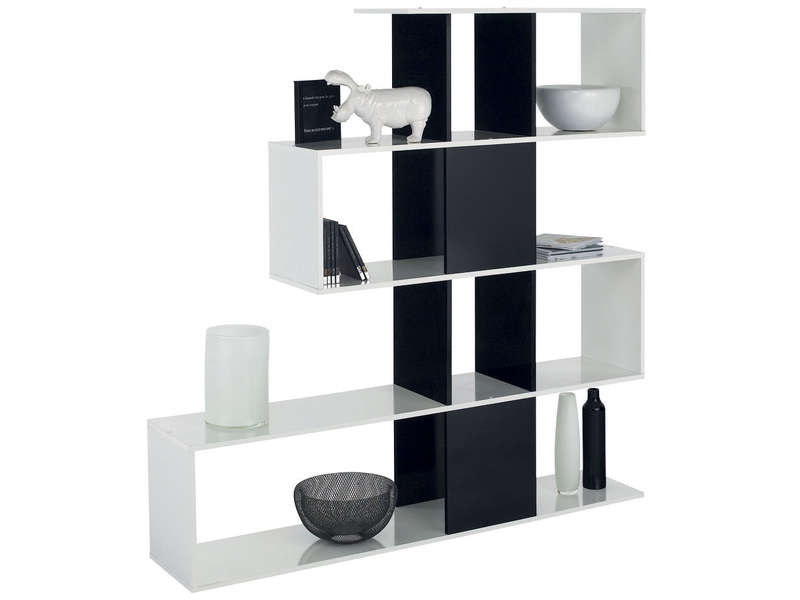 s paration zig zag vente de biblioth que et vitrine. Black Bedroom Furniture Sets. Home Design Ideas