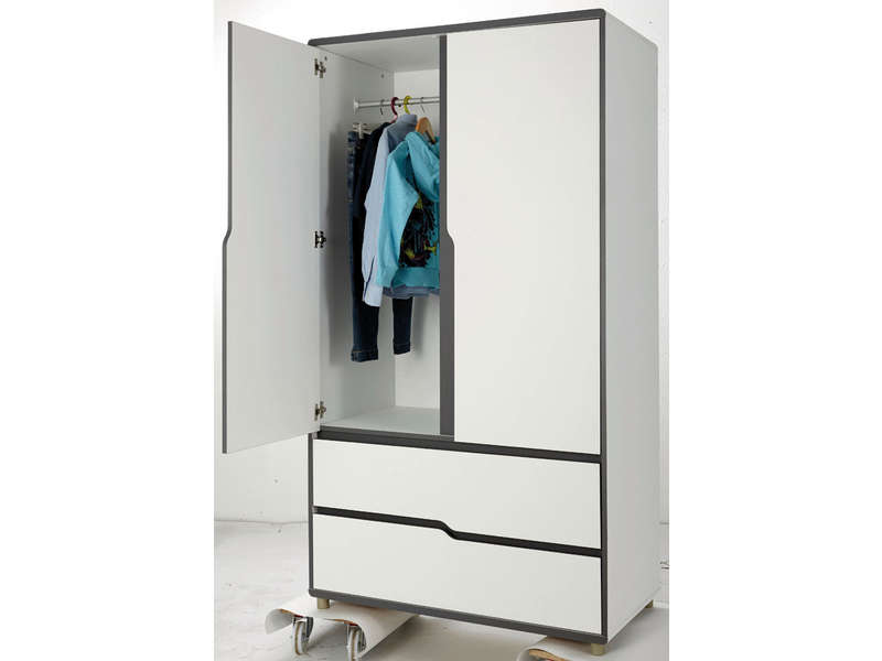 conforama armoire 2 portes. Black Bedroom Furniture Sets. Home Design Ideas