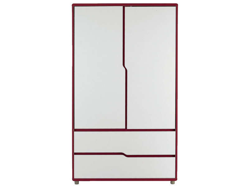 armoire moby blanc fuchsia vente de armoire enfant. Black Bedroom Furniture Sets. Home Design Ideas