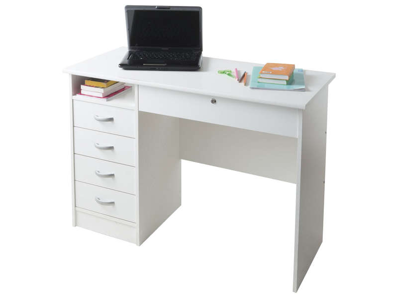 bureau 5 tiroirs 1 niche college 2 vente de bureau. Black Bedroom Furniture Sets. Home Design Ideas