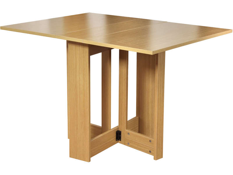 Table console pliante conforama for Table de jardin conforama