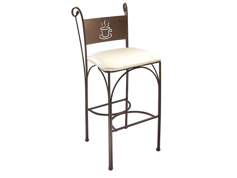 Lot de 2 tabourets de bar cafe vente de chaise conforama for Siege de cuisine hauteur